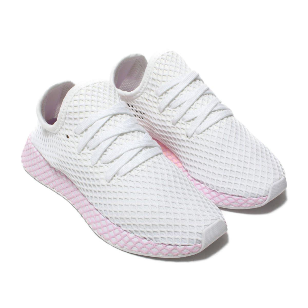 adidas Originals DEERUPT RUNNER W (????????????????????? W) RUNNING WHITERUNNING WHITECLEAR LILAC 18FA I