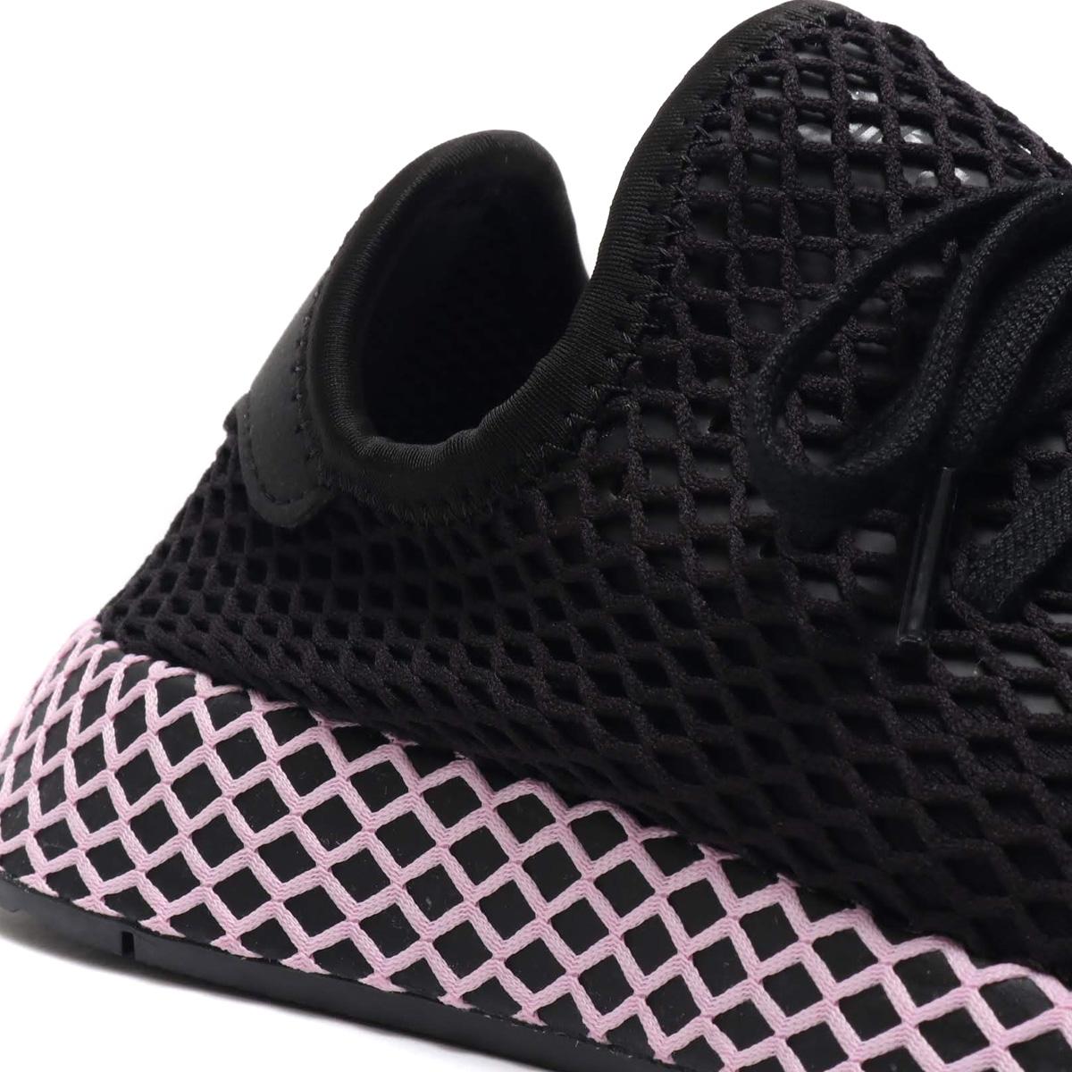 946b7385a adidas Originals DEERUPT RUNNER W (アディダスオリジナルスディーラプトランナー W) CORE BLACK CORE  BLACK CLEAR LILAC 18FA-I