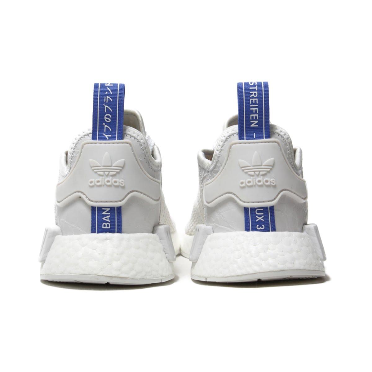 best cheap 4a91e 7a718 adidas Originals NMD R1 W (Adidas originals N M D R1W) Crystal WhiteCrystal  WhiteReal Lilac 18FW-I