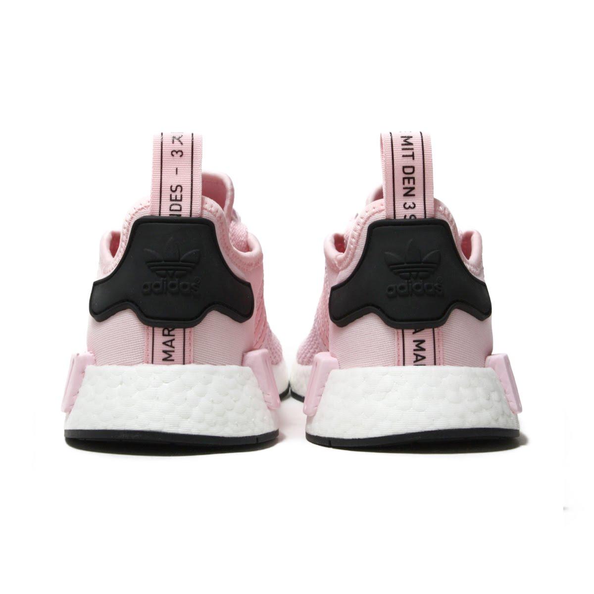 c5c6a028c adidas NMD R1 W (Adidas N M D R1W) clear pink   running white   core black  18FW-I