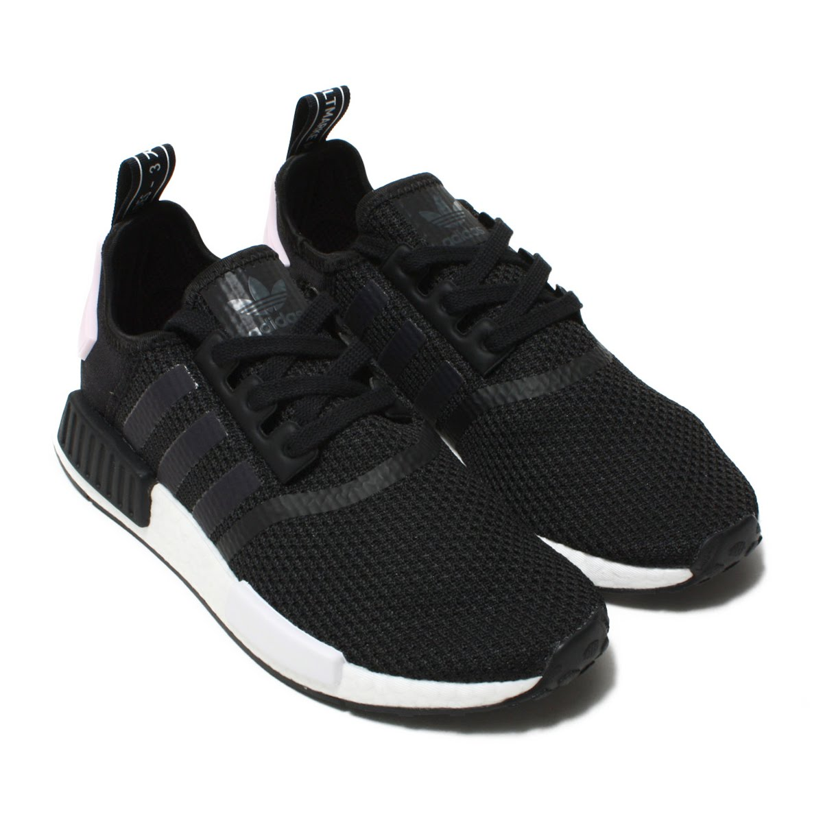 huge discount c9d24 14e5a adidas Originals NMD_R1 W (Adidas originals N M D R1W) CORE BLACK/RUNNING  WHITE/CLEAR PINK 18FA-I