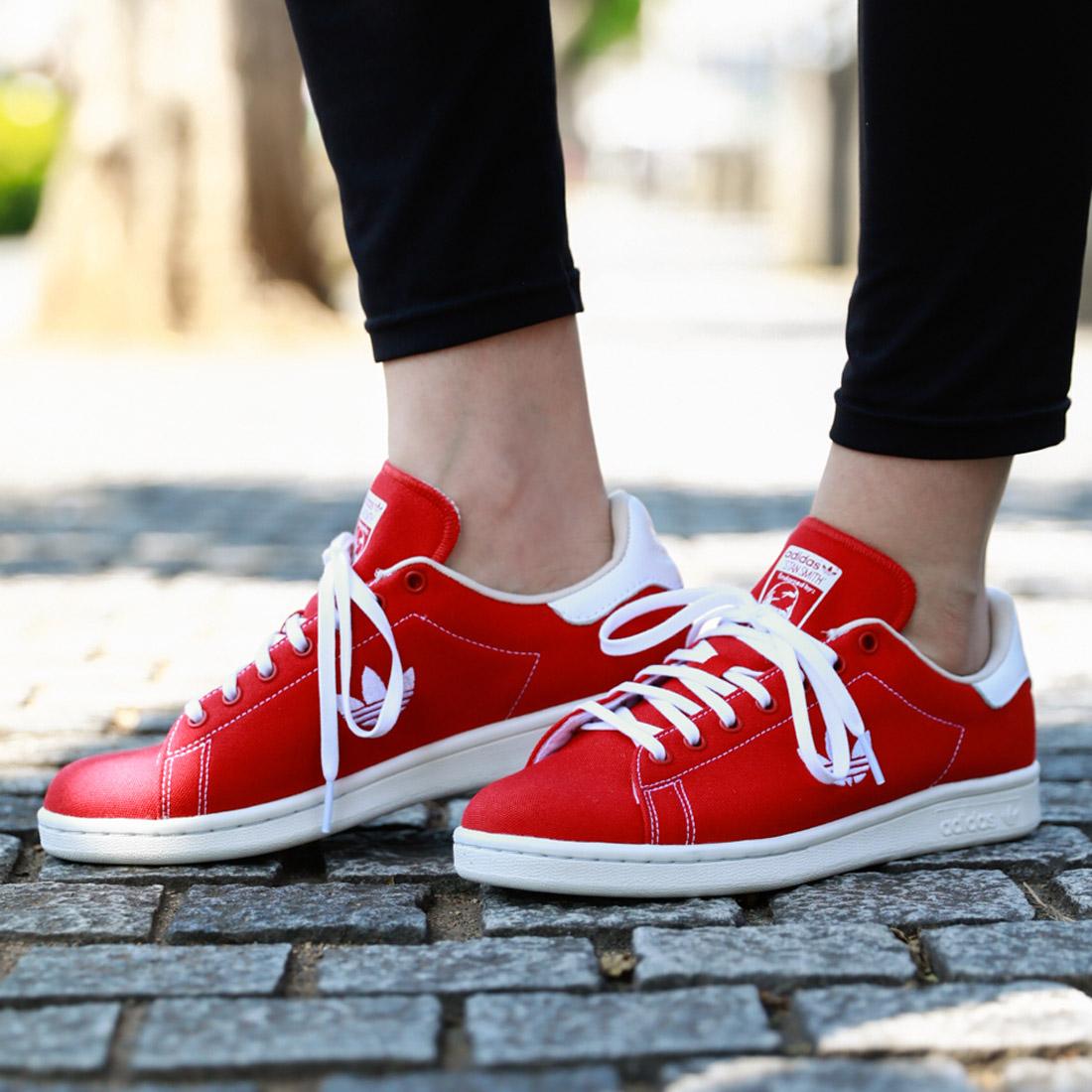 adidas Originals Stan Smith(アディダス オリジナルス スタンスミス)Scarlet/Running White/Clear Brown【メンズ レディース スニーカー】18FW-I