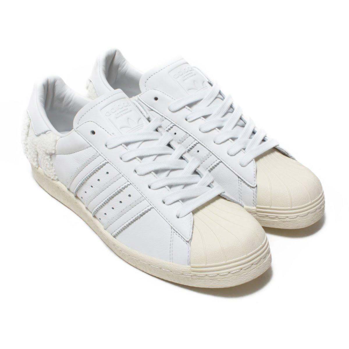 adidas Originals SUPERSTAR 80s(アディダス オリジナルス スーパースター80s)Crystal White/Crystal White/Off White【メンズ レディース スニーカー】18FW-I