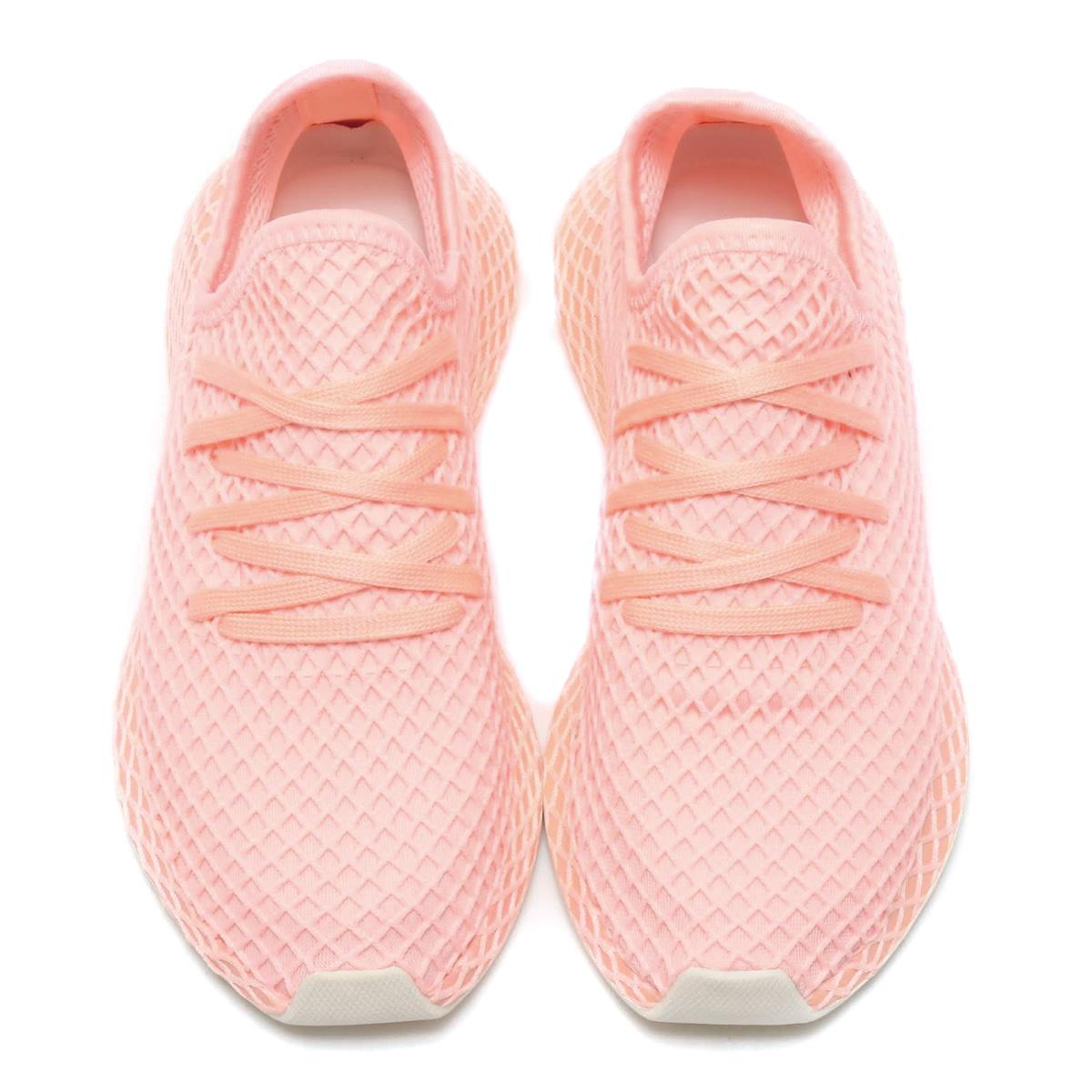 626ab93c0c15ce adidas DEERUPT RUNNER W (Adidas Stan Smith W) clear orange F18  clear  orange F18  off-white 18FW-I