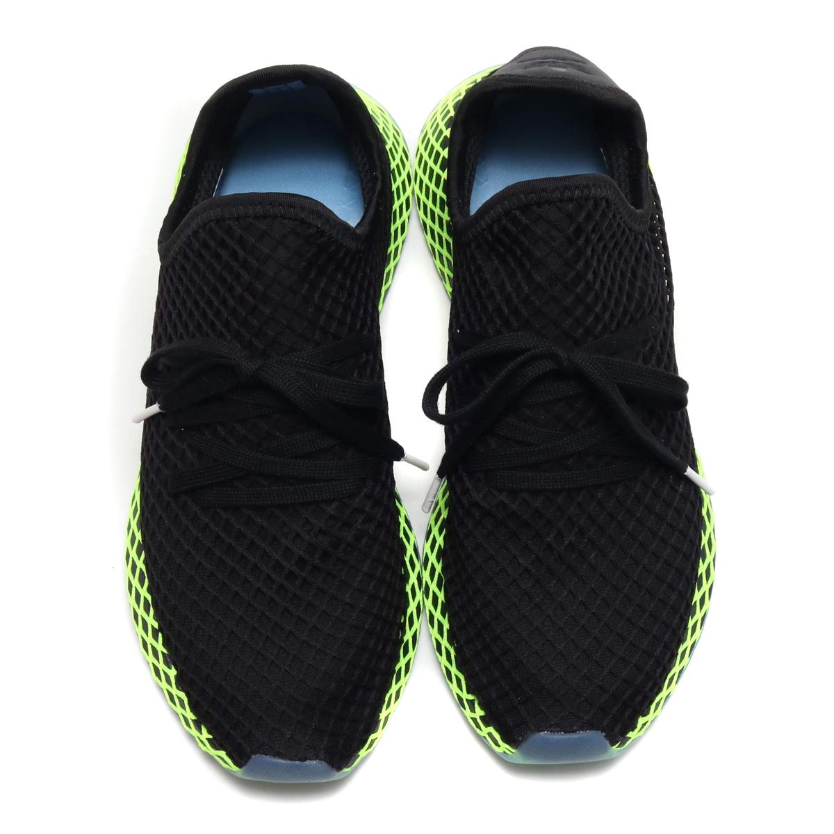promo code 60d54 bd43f adidas Originals DEERUPT RUNNER (アディダスオリジナルスディラプトランナー) CORE BLACKCORE  BLACKASH BLUE 18FA-I
