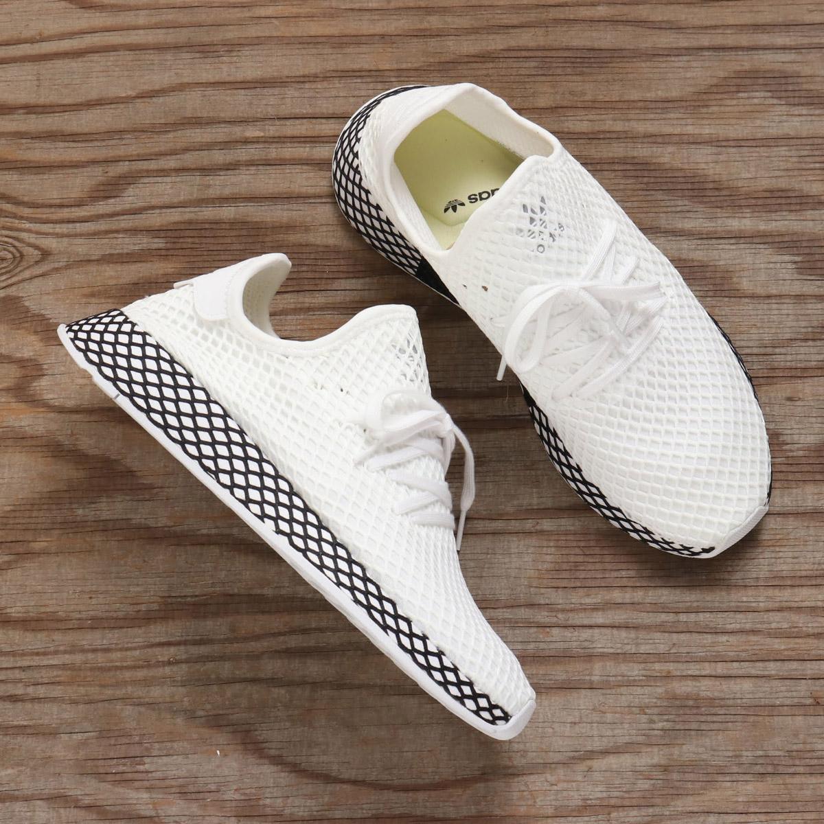 adidas Originals DEERUPT RUNNER (アディダスオリジナルスディラプトランナー) RUNNING WHITERUNNING WHITECORE BLACK 18FA I