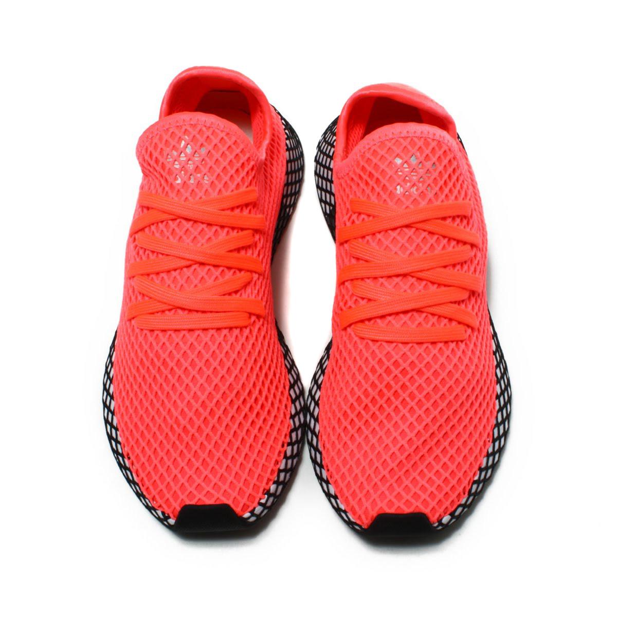 cheaper ec5fa 3dec5 adidas Originals DEERUPT RUNNER (アディダスオリジナルスディラプトランナー) TURBOTURBOCORE  BLACK 18FA-I