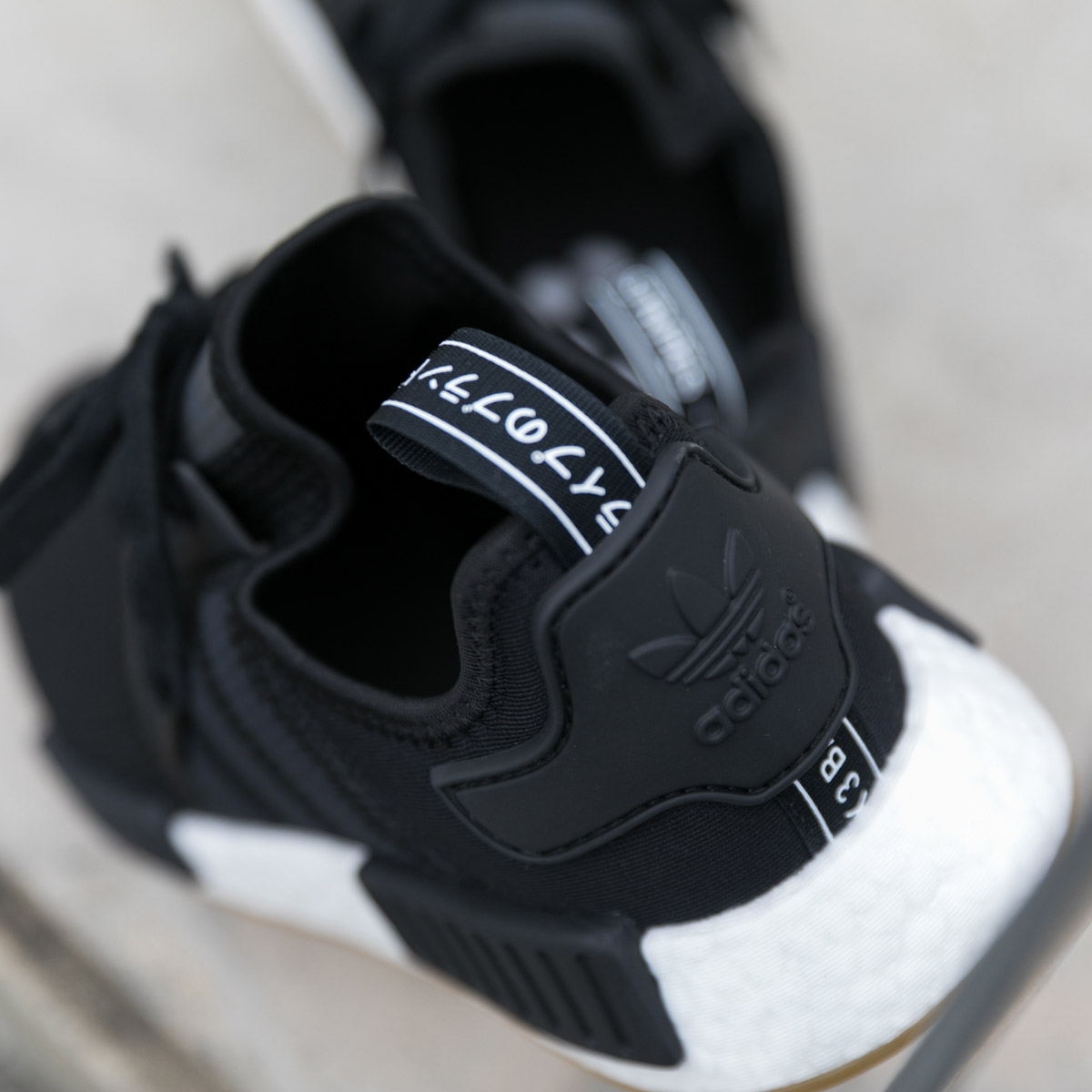 8e7001913 adidas Originals NMD R1 (Adidas N M D R1) Core Black Core Black Gum 18FW-I