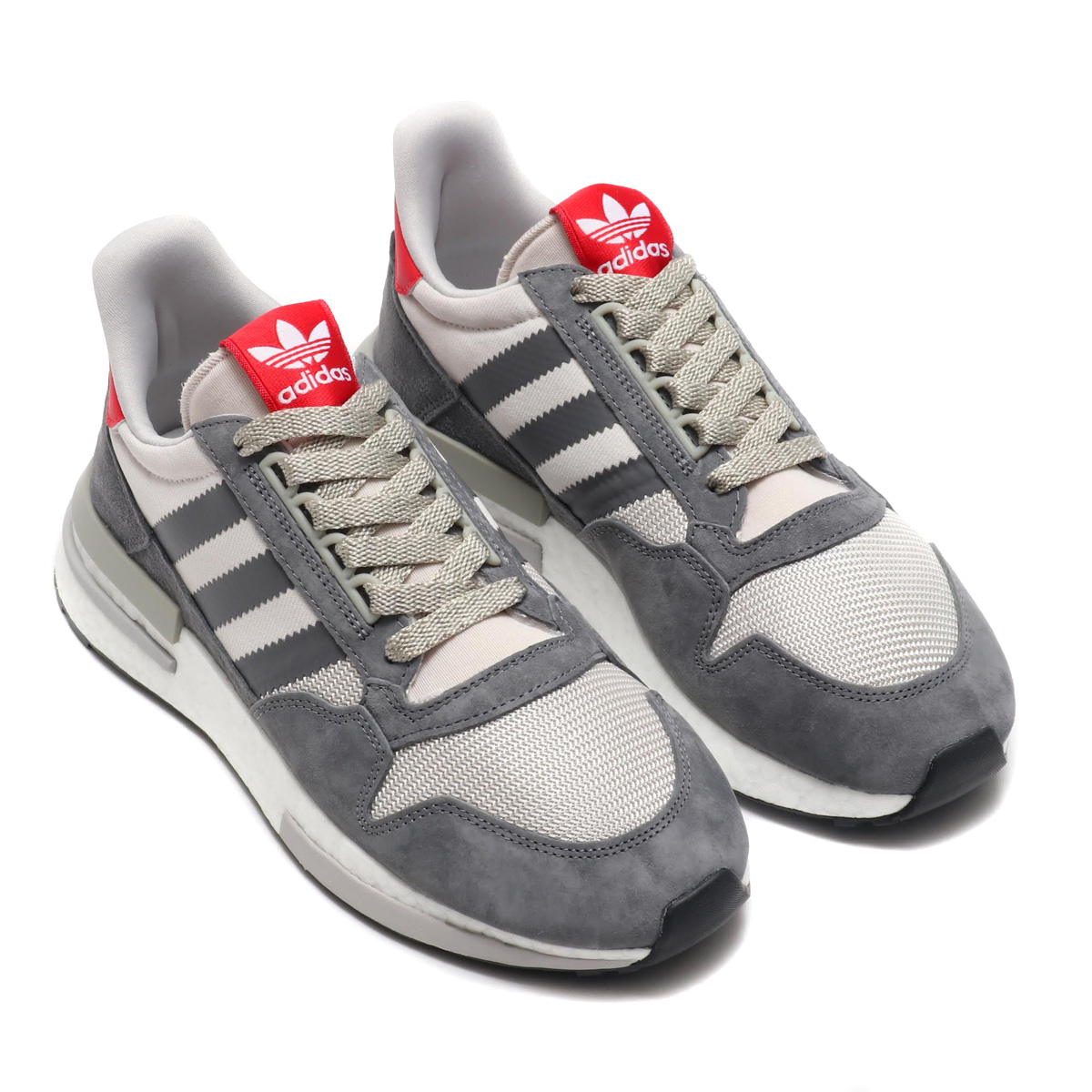 the best attitude fc347 ccf89 adidas Originals ZX 500 RM (Adidas originals ZX 500 RM) GREY/RUNNING  WHITE/SCARLET 18FA-I