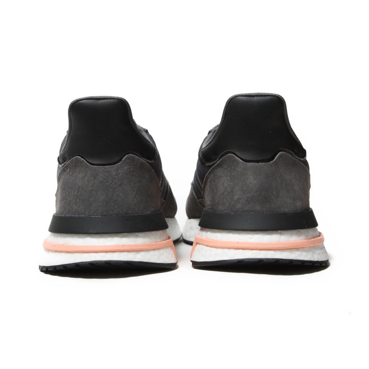 2222ab682accf adidas Originals ZX 500 RM (Adidas originals ZX 500 RM) Grey Five Running  White Clear Orange 18FW-I