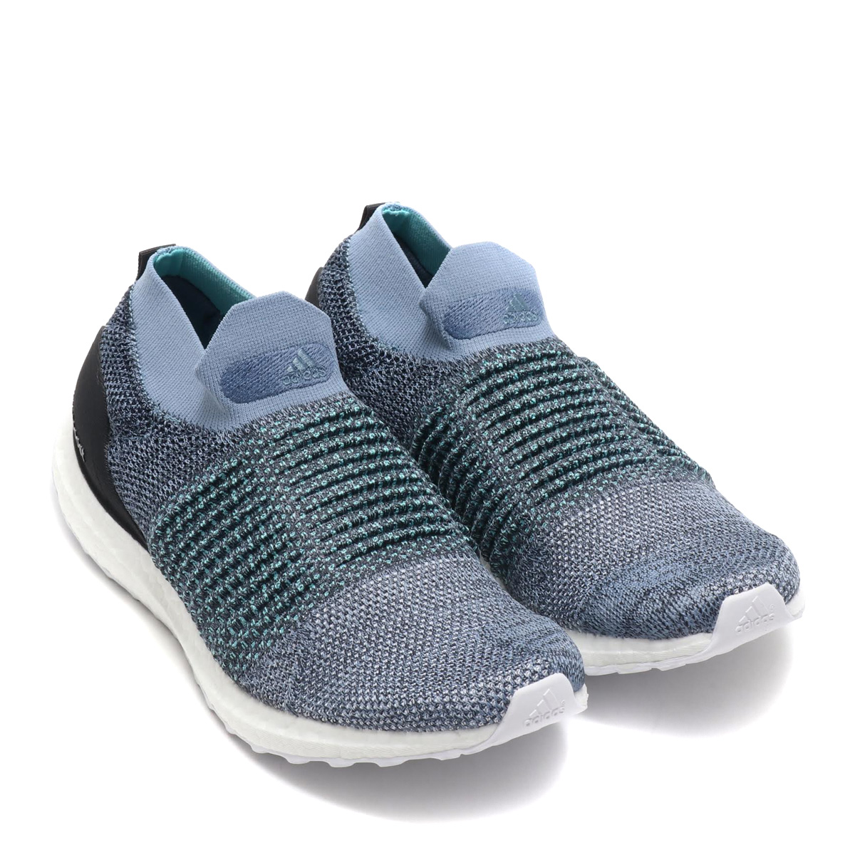 adidas UltraBOOST LACELESS Parley (アディダスウルトラブーストレースレスパーレー) RAW GREY CARBON BLUE SPIRIT 18FW I