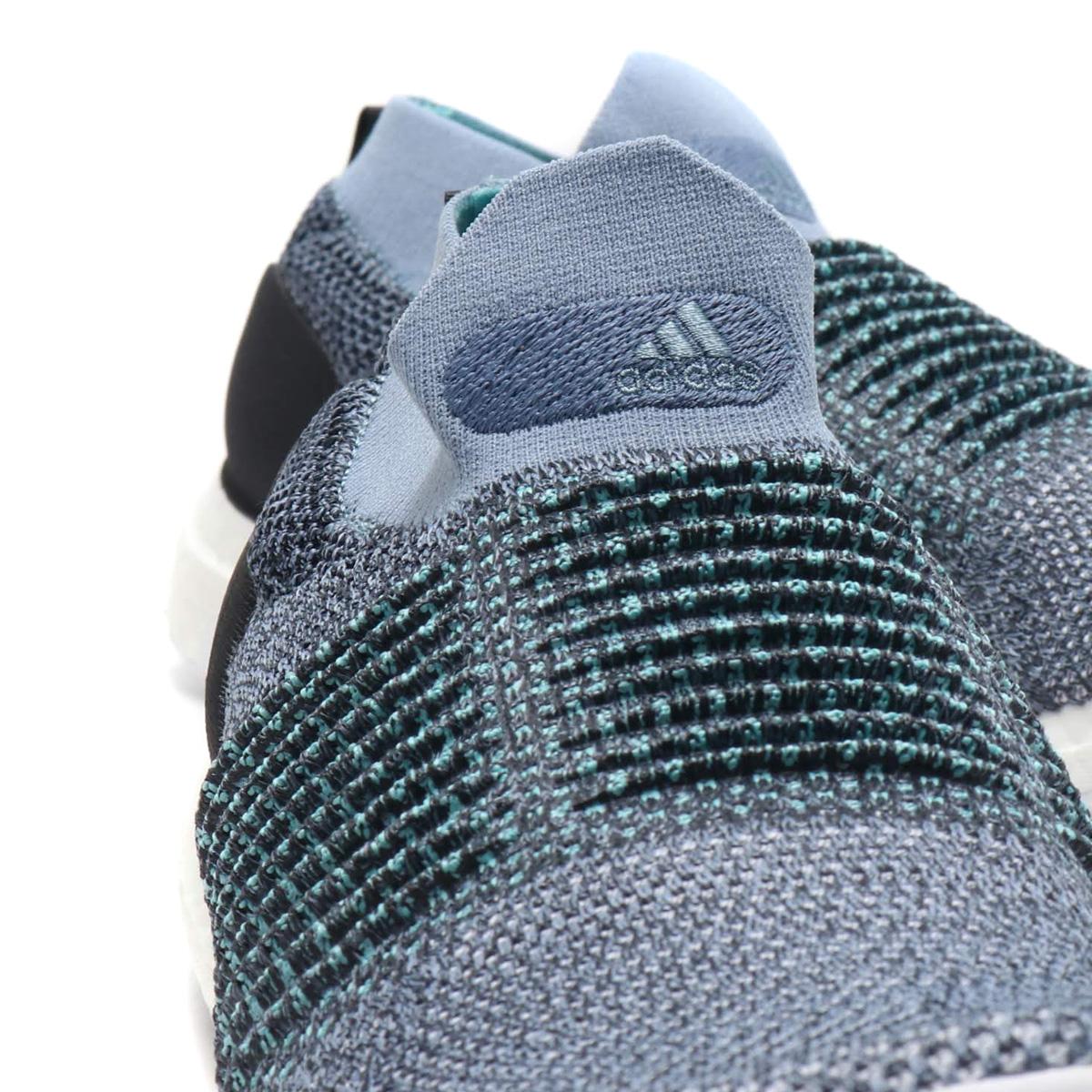 ab82524944ba8 adidas UltraBOOST LACELESS Parley (アディダスウルトラブーストレースレスパーレー) RAW GREY    CARBON   BLUE SPIRIT 18FW-I