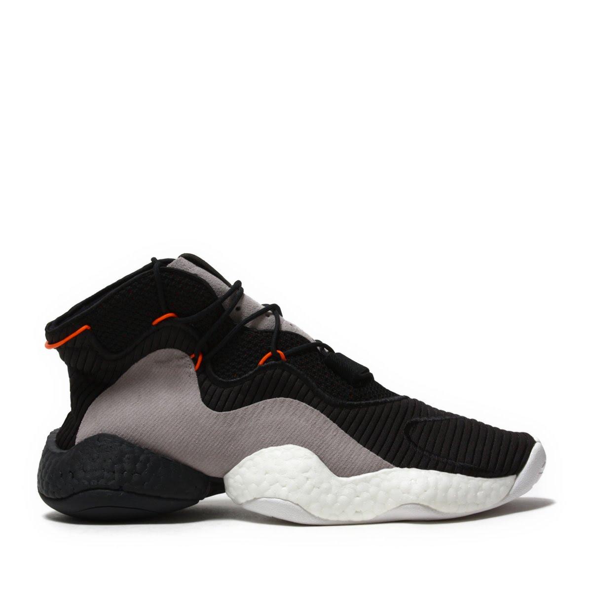 on sale 7e314 2bc96 adidas Originals CRAZY BYW (Adidas originals crazy BYW) CORE BLACKORANGEHI -RES RED 18FW-I