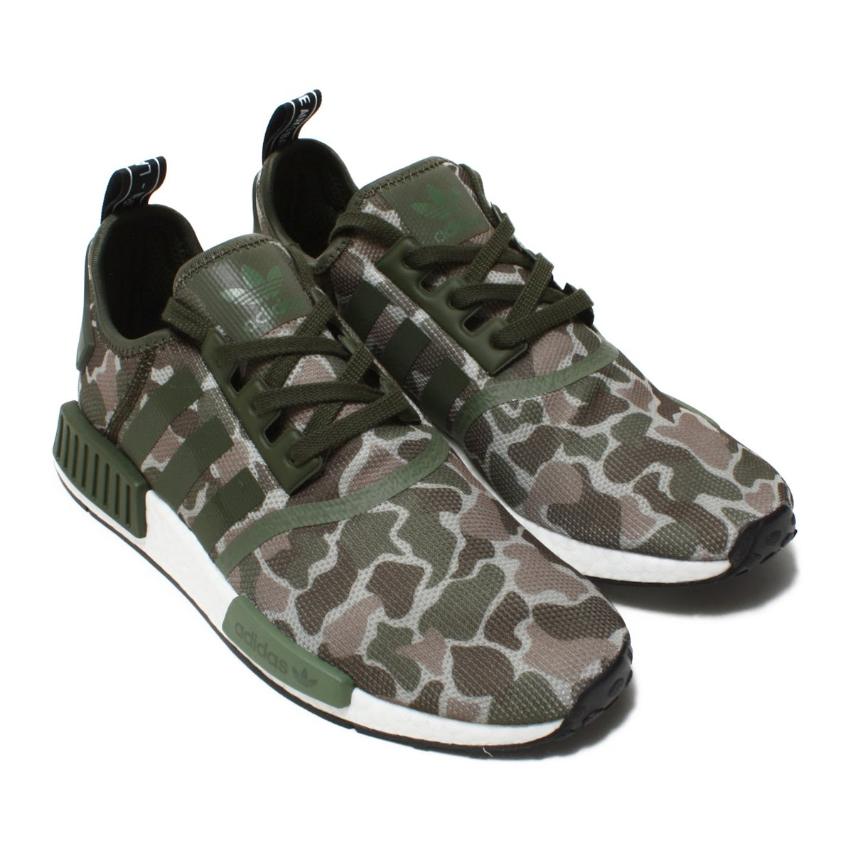 422f73d1e8c3a I blend the style of the outdoor gear with the origin of running shoes of  the 80s. NMD that wore polish and modishness. Mid sole superior in knit  upper ...