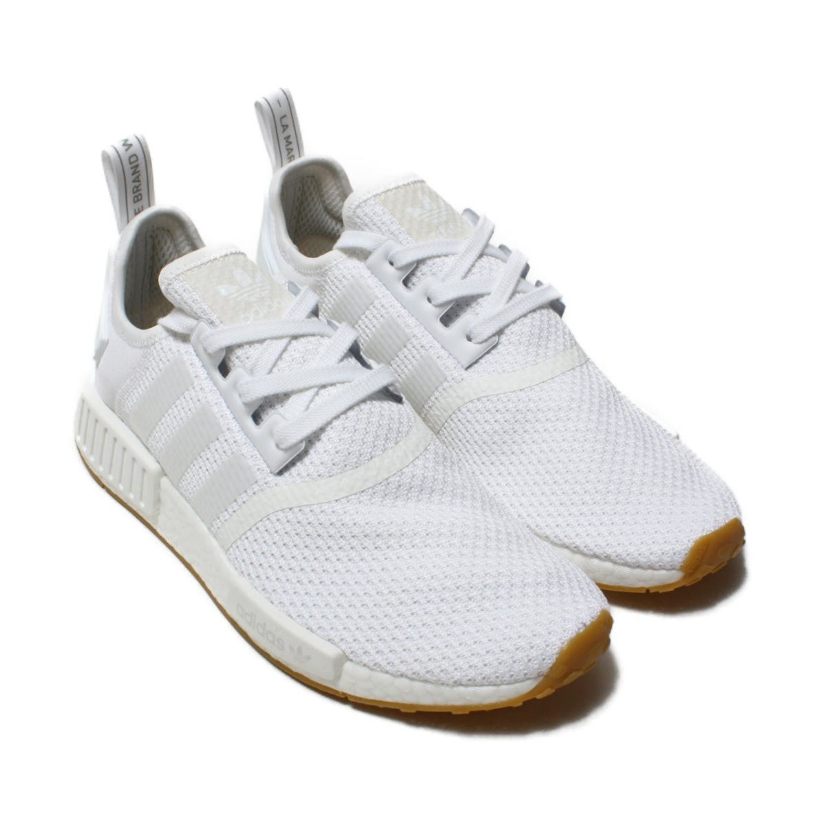 huge selection of b2a3c bbe7b adidas Originals NMD R1 (Adidas N M D R1) Running White/Running White/Gum  18FW-I