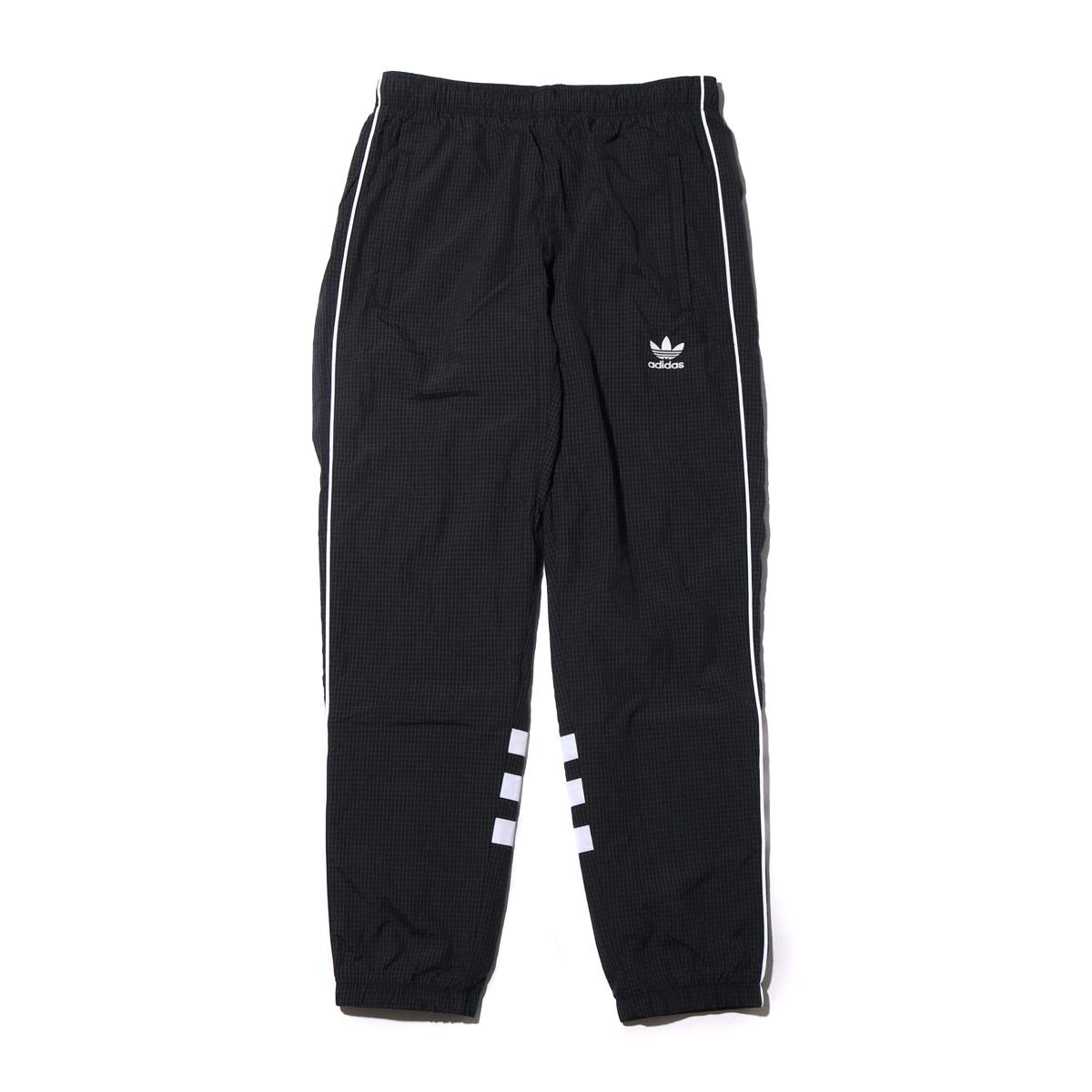 adidas AUTH RIPSTOP TRACK PANTS(アディダス AUTHリップストップトラックパンツ)ブラック【メンズ ジャケット】18FW-I