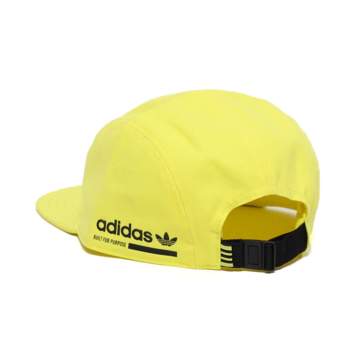 d88b0f43768 adidas KAVAL CAP (アディダスカバルキャップ) shock yellow F18  black 18FW-I