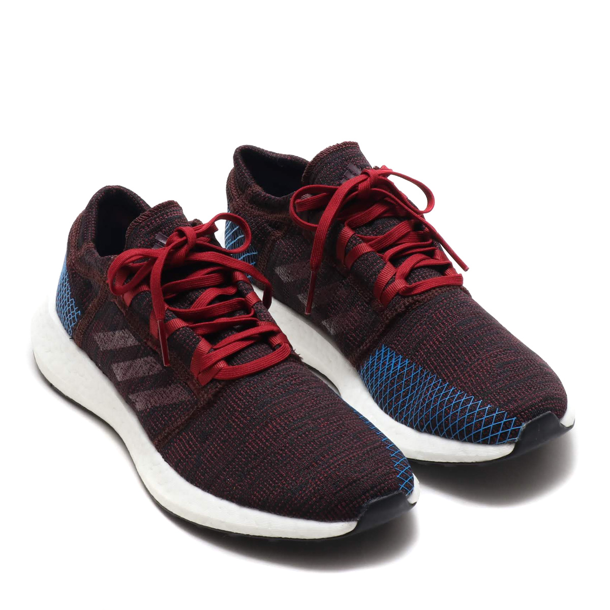 adidas PureBOOST GO (Adidas pure boost GO) knight red Noble Marron F18 blight blue 18FW I