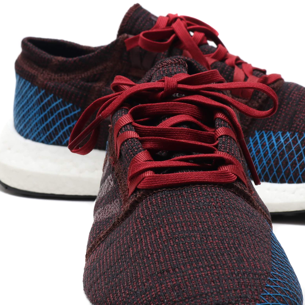 4ee3bb8e1d900 adidas PureBOOST GO (Adidas pure boost GO) knight red   Noble Marron F18   blight blue 18FW-I