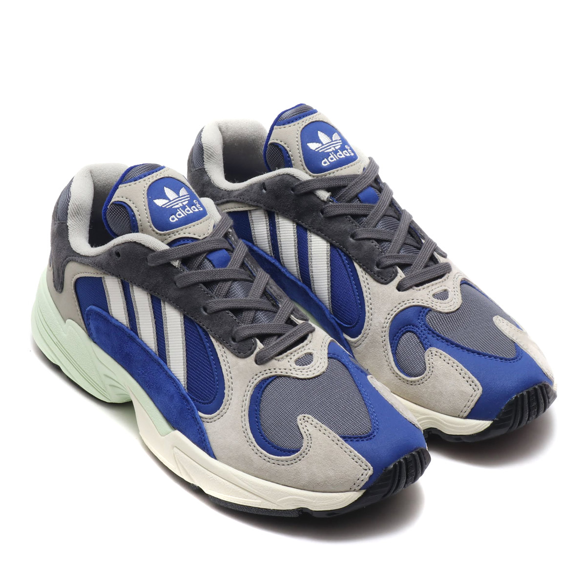 adidas Originals YUNG-1 (Adidas young people 1) sesame   gray five F17   chalk white 18FW-I c89bb7311