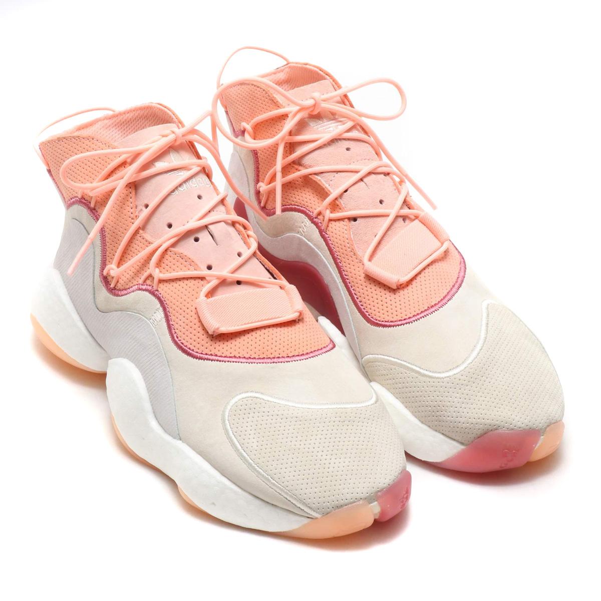 online store 71ce4 6e3ea ... where to buy adidas crazy byw lvl i adidas crazy byw lvl1 cream white  clear orange