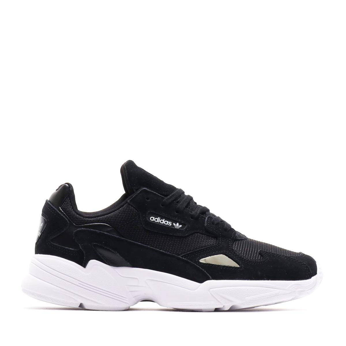 4f8df47498335b adidas Originals FALCON W (Adidas originals falcon W) CORE BLACK CORE  BLACK RUNNING WHITE 18FW-S