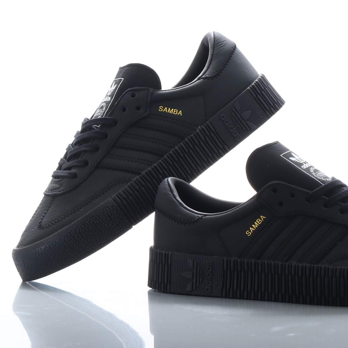 adidas Originals SAMBAROSE W (Adidas originals samba Rose W) CORE BLACKCORE BLACKCORE BLACK 18FW I