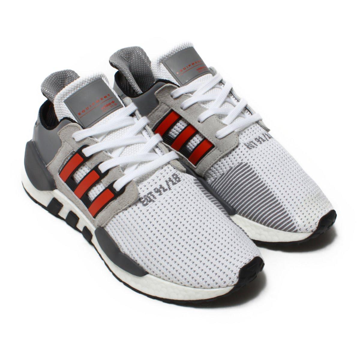7a497e6af1709e adidas Originals EQT SUPPORT 91 18 (Adidas originals E cue tea support 91 18)  RUNNING WHITE HI-RES RED GREY 18FW-I