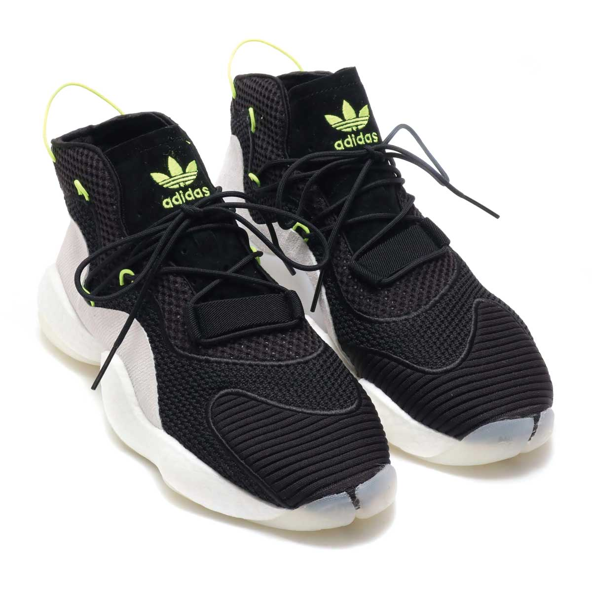 adidas Originals CRAZY BYW LVL I(アディダス オリジナルス クレイジーBYW LVL1)CORE BLACK/RUNNING WHITE/SOLAR YELLOW【メンズ スニーカー】18FW-I