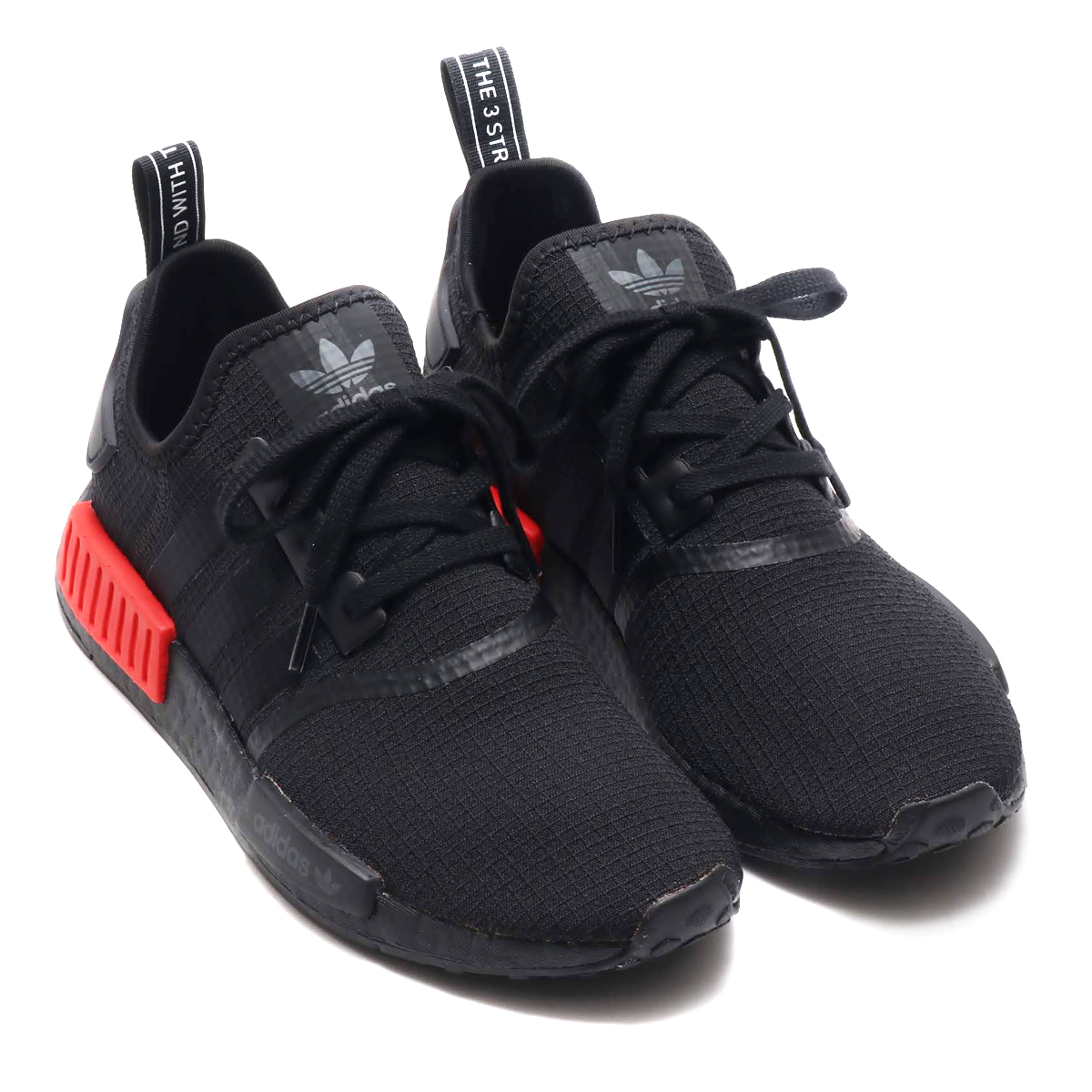 reputable site c95b4 9ea87 adidas NMD R1 (Adidas N M D R1) core black   core black   rush red 18FW ...