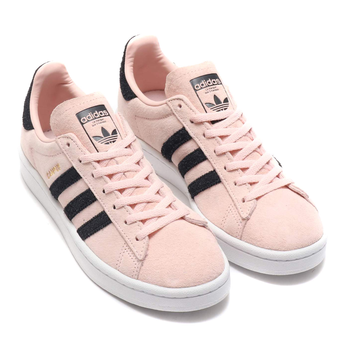 adidas Originals CAMPUS W (Adidas original scan pass W) ICEY PINKCORE BLACKCRYSTAL WHITE 18FW I
