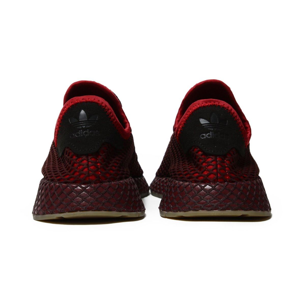 new product 3cf93 181f8 adidas Originals DEERUPT RUNNER (Adidas originals D - ラプトランナー) COLLEGEATE  BURGUNDYCOLLEGEATE BURGUNDYASH GREEN 18FW-I