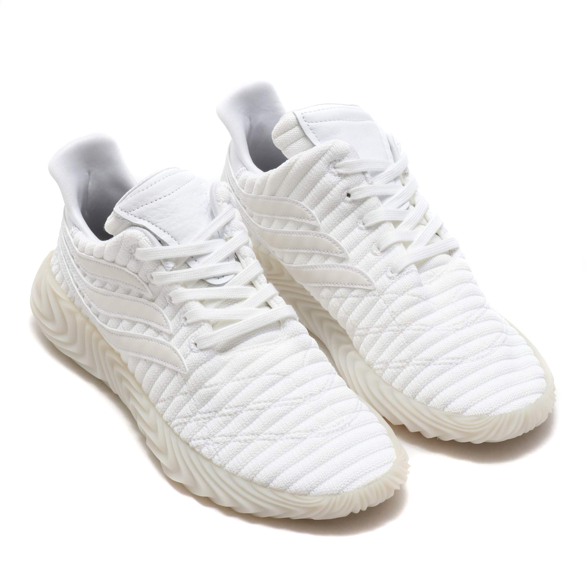 adidas Originals Sobakov(アディダス オリジナルス ソバコフ)RUNNING WHITE/CRYSTAL WHITE/CRYSTAL WHIT【メンズ スニーカー】18FW-I