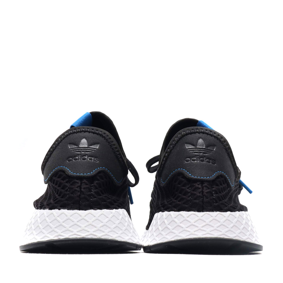 4ec23ed6846b4 adidas Originals DEERUPT RUNNER AT (アディダスオリジナルスディラプトランナー AT) core black    core black   Bluebird 18FW-I