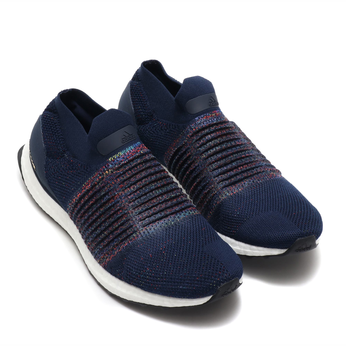 buy online 106ac 263da adidas UltraBOOST LACELESS (Adidas ultra boost race reply) COLLEGE  NAVY/RUNNING WHITE/CORE BLACK 18FW-I