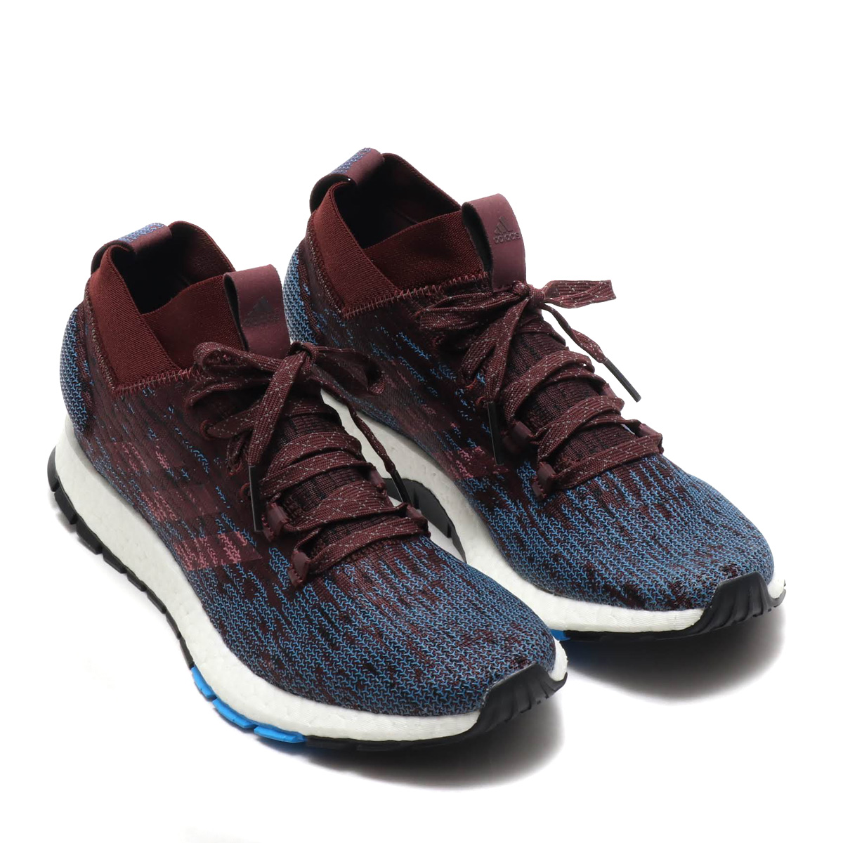 best service 1c0bf ccd61 adidas PureBOOST RBL (Adidas pure boost RBL) knight red   trace Marron F18  core  black 18FW-I