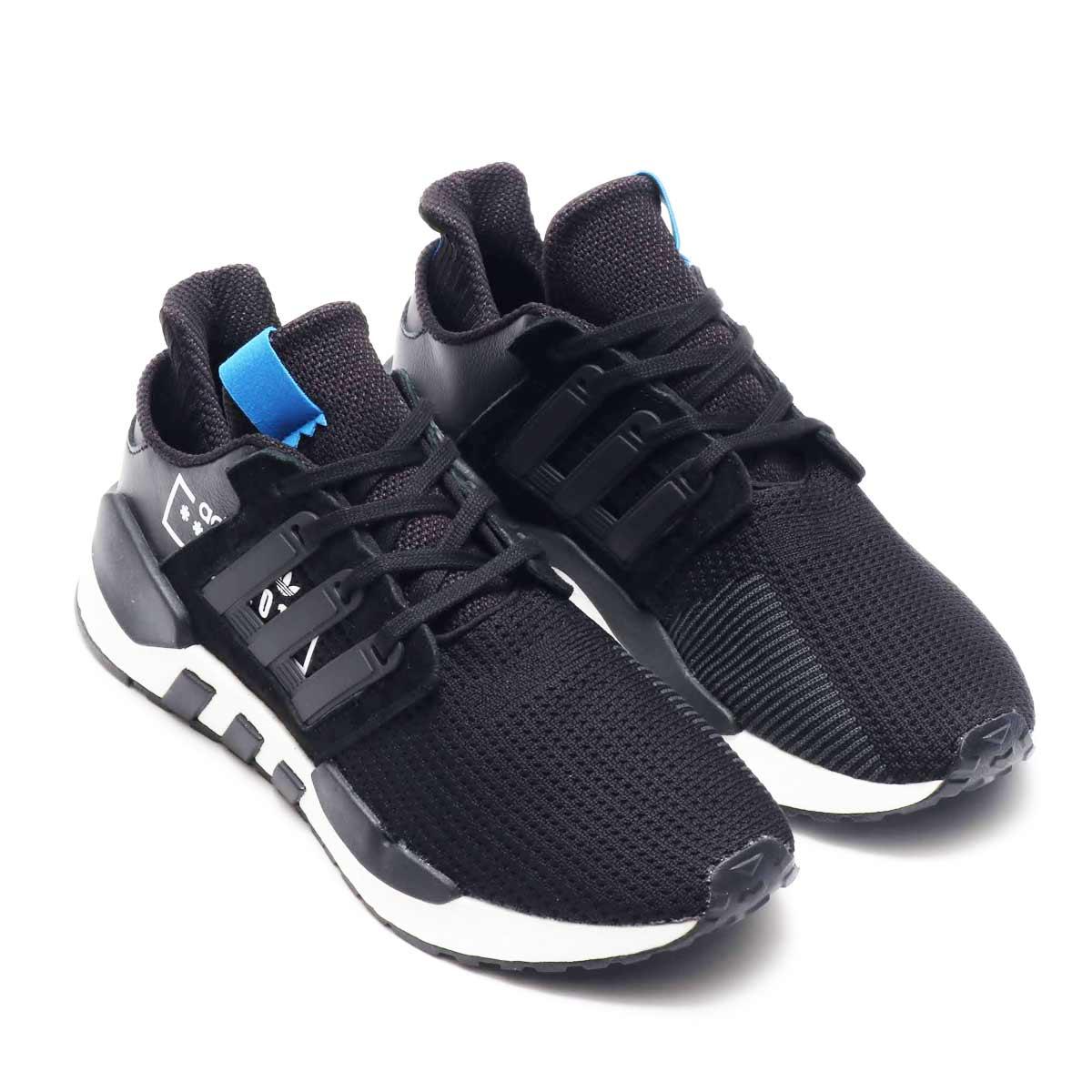 adidas EQT SUPPORT 91/18 AT(アディダス イーキューティーサポート91/18)コアブラック/コアブラック/ブルーバード【メンズ スニーカー】18FW-I