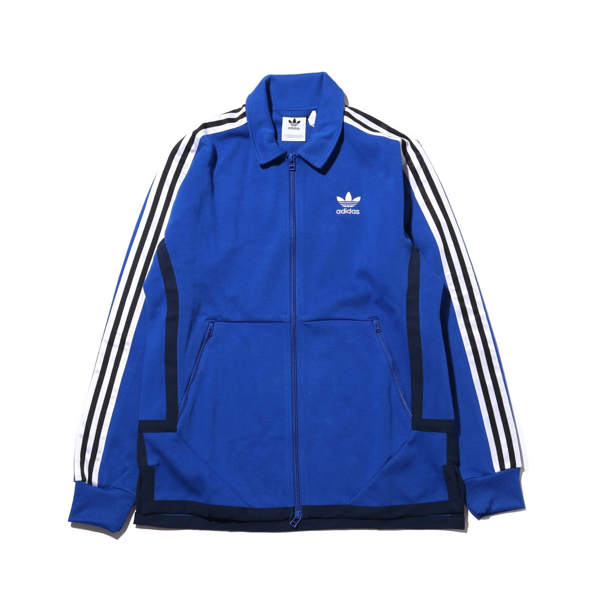 adidas original jacket college blue