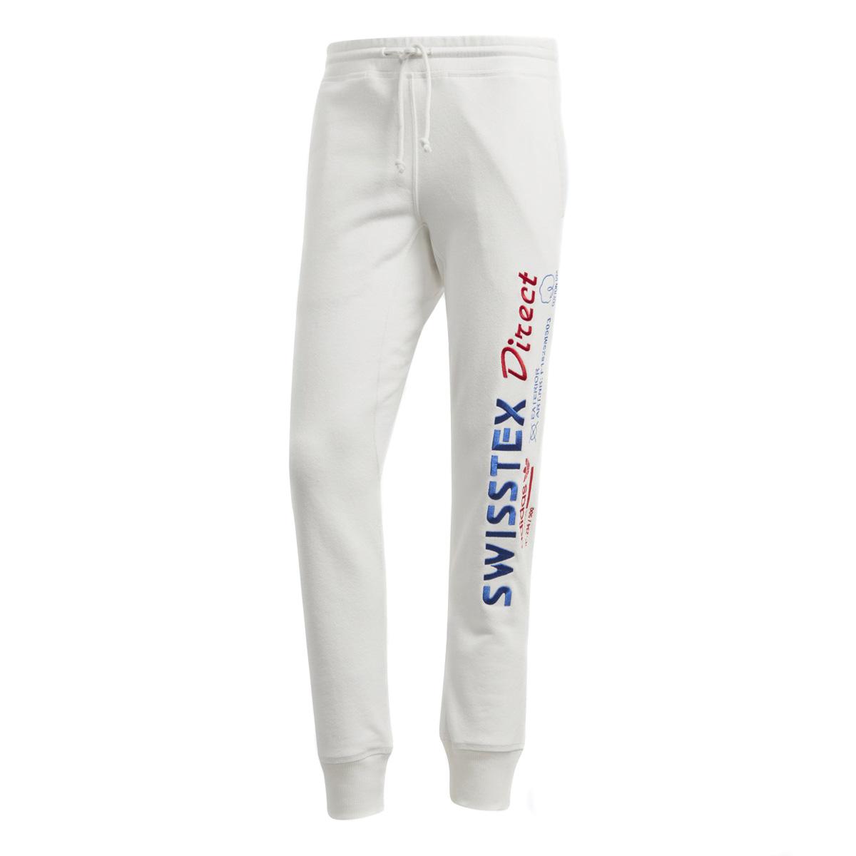 adidas KAVAL SWEATPANTS(アディダス カバルスウェットパンツ)クラウドホワイト F18【メンズ Tシャツ】18FW-I