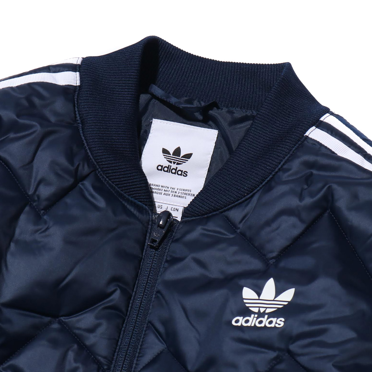e59820d28b4 adidas SST QUILTED JACKET (Adidas SST kill Ted jacket) college navy 18FW-I