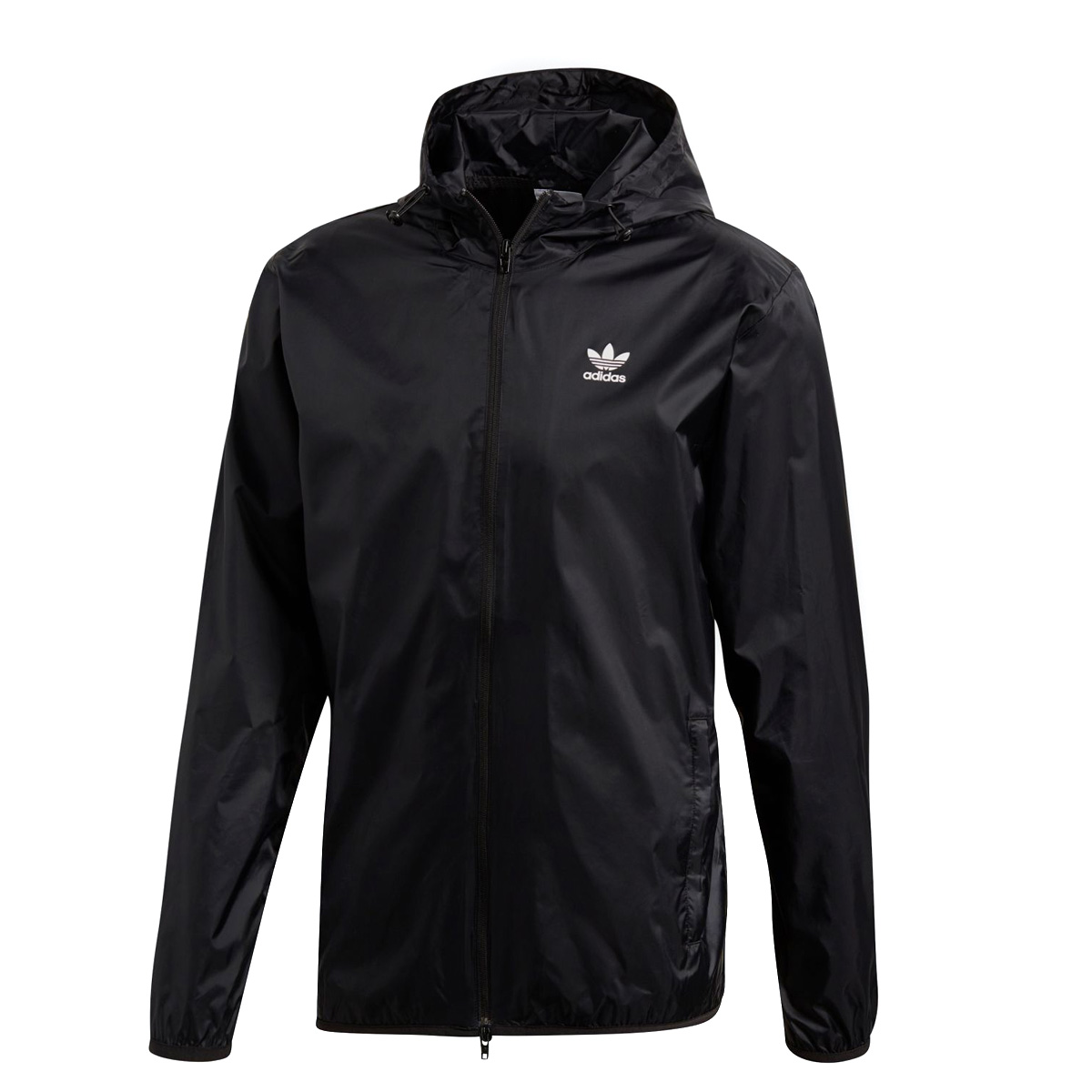 adidas Originals TREFOIL WINDBREAKER(アディダス オリジナルス トレフォイルウィンドブレーカー)BLACK【メンズ ジャケット】18FW-I