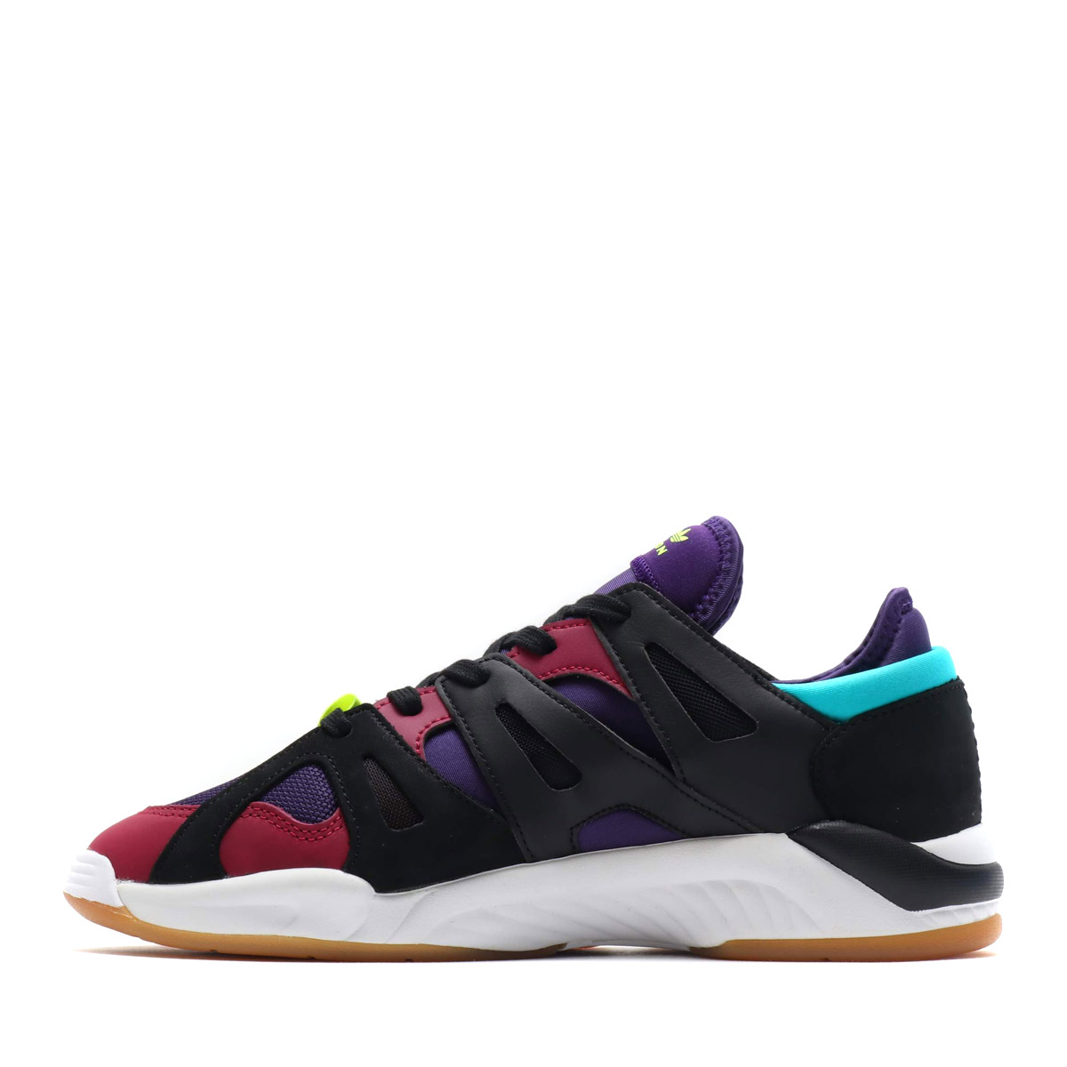 reputable site 1733d 56586 adidas Originals DIMENSION LO (Adidas originals dimension LO) CORE BLACKDARK  PURPLEMYSTERY RUBY 18FW-I