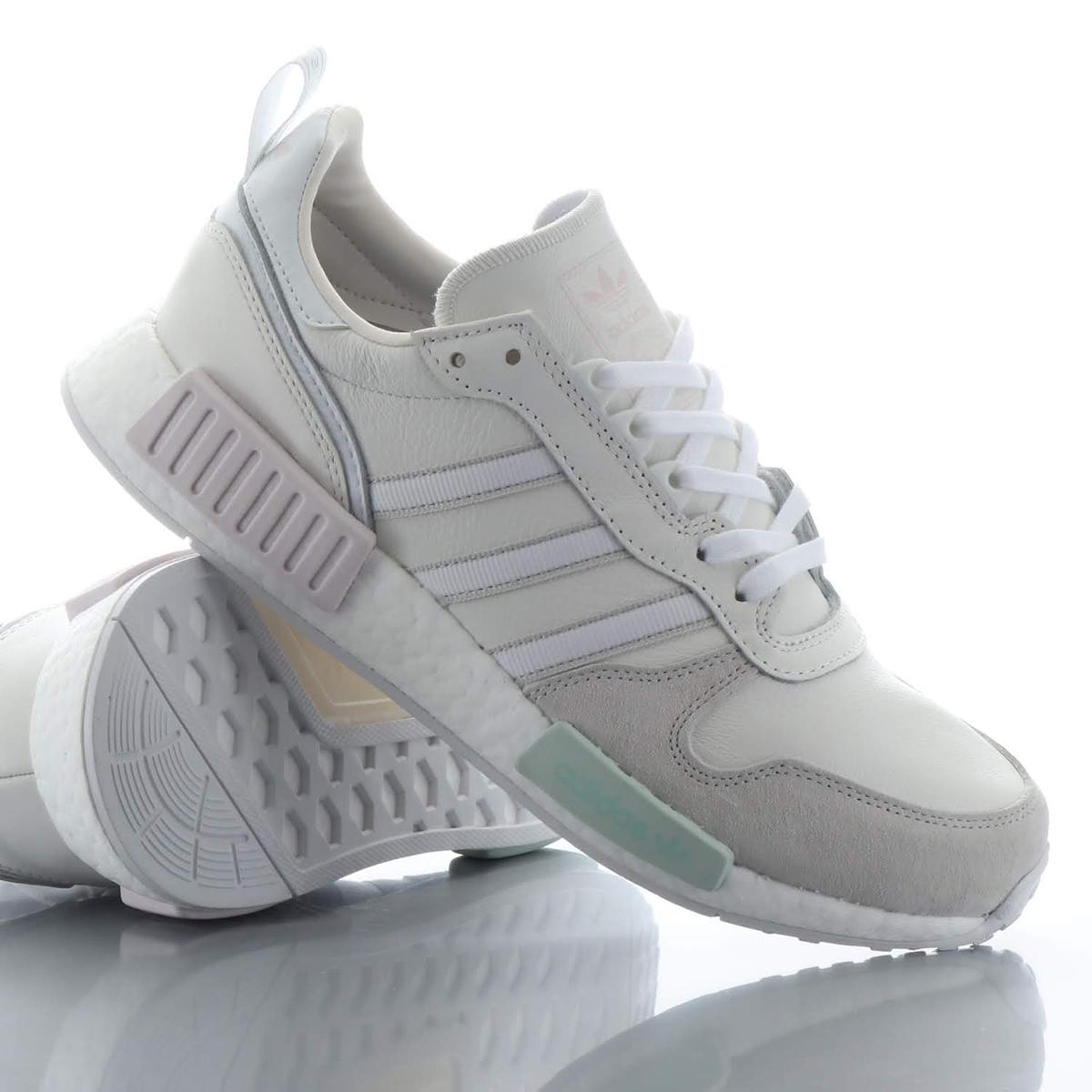adidas Originals RISING_R1(アディダスオリジナルス ライジング_R1)RUNNING WHITE / CLOUD WHITE / GREY【メンズ レディース スニーカー】18FW-S