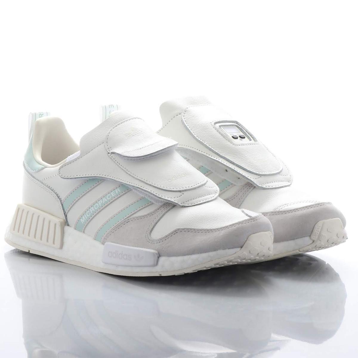 adidas Originals MICRO_R1(アディダスオリジナルス マイクロ_R1)RUNNING WHITE / CLOUD WHITE / GREY【メンズ レディース スニーカー】18FW-S