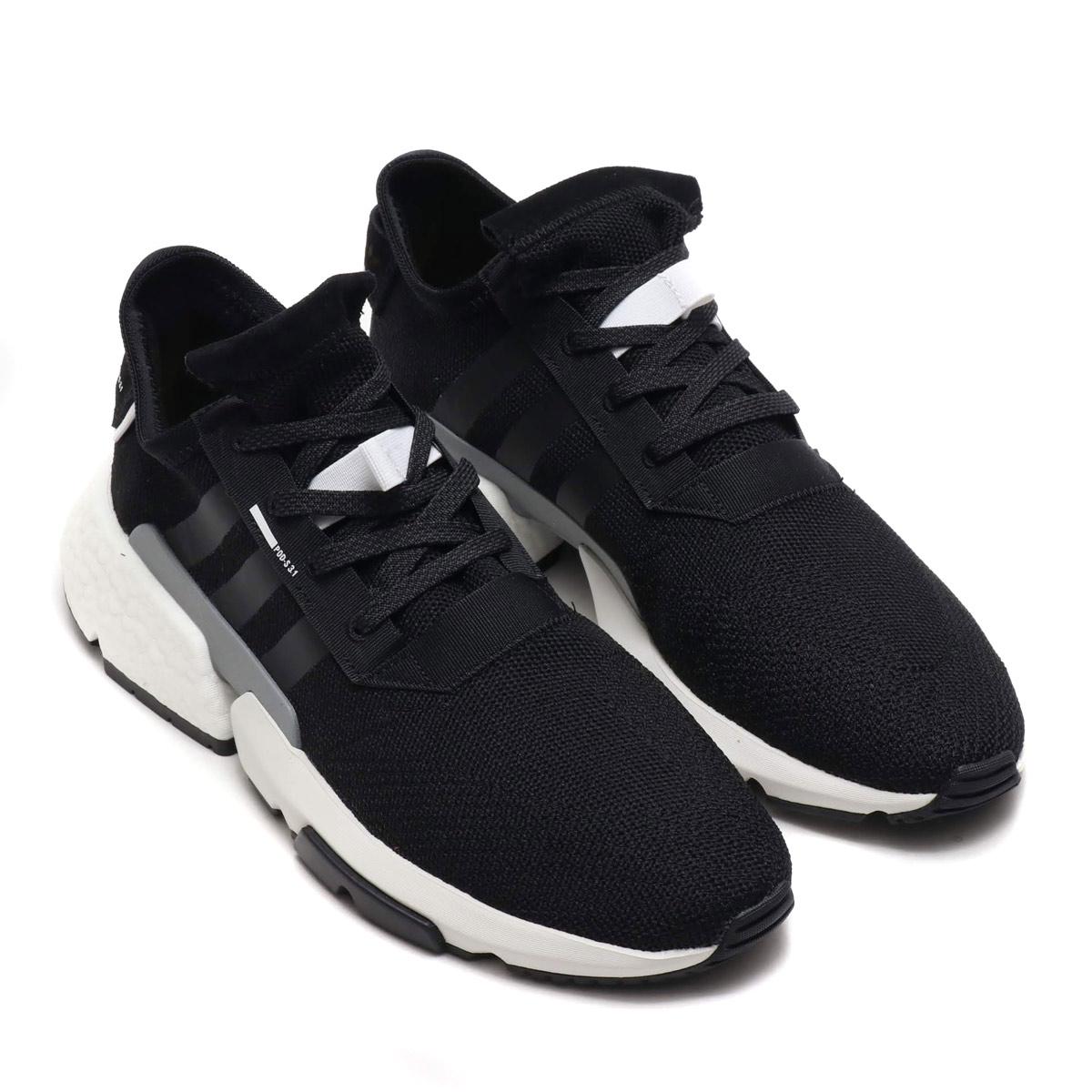 adidas Originals POD-S3.1 (アディダスオリジナルス POD-S3.1)CORE BLACK/CORE BLACK/REFLECTIVE SILVER【メンズ レディース スニーカー】18FW-I