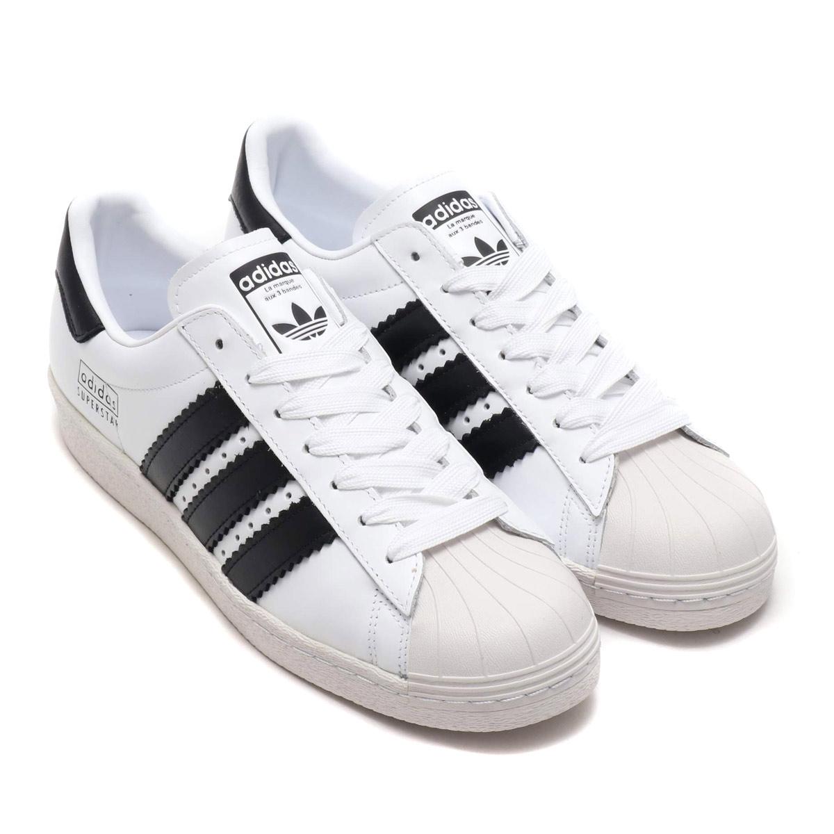 adidas Originals SUPERSTAR 80s (アディダスオリジナルス スーパースター 80s)RUNNING WHITE/CORE BLACK/WHITE【メンズ レディース スニーカー】18FW-I