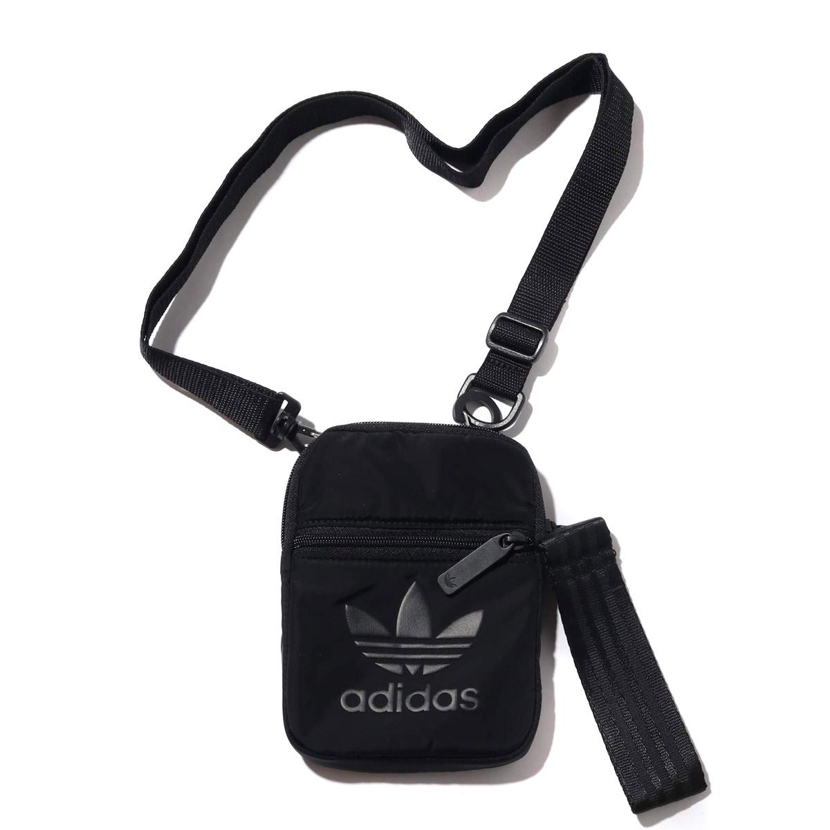 adidas Originals FESTIVAL BAG (Adidas originals Festival bag) BLACK 19SS I