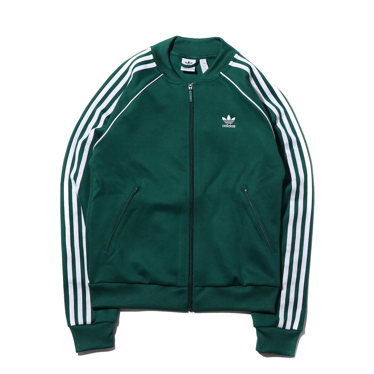 adidas Originals SST TRACK TOP (アディダスオリジナルス SST トラックトップ)COLLEGEATE GREEN【レディース ジャケット】19SS-I