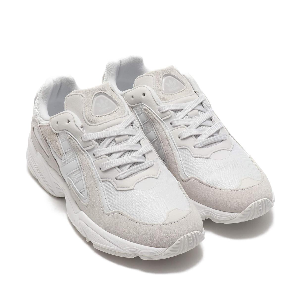 adidas Originals YUNG-96 CHASM(アディダスオリジナルス ヤングキューロク CHASM)CRYSTAL WHITE/CRYSTAL WHITE/RUNNING WHITE【メンズ レディース スニーカー】19FW-S