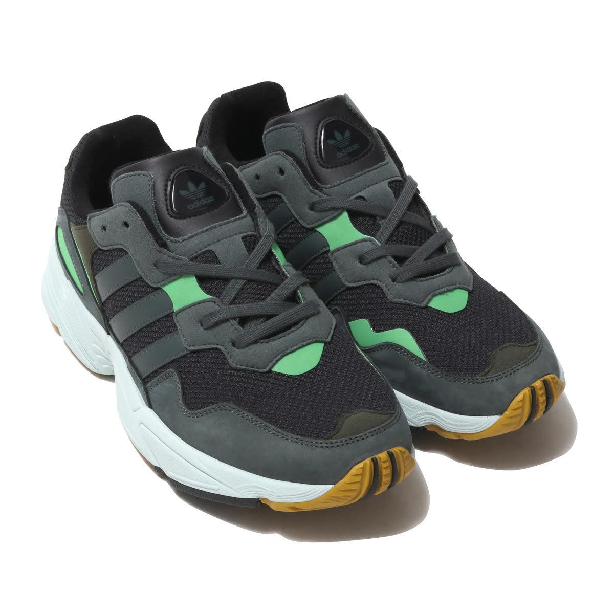 adidas Originals YUNG-96(アディダスオリジナルス ヤング-96)(CORE BLACK/LEGEND IVY/RAW OCHRE)【メンズ スニーカー】19SS-I